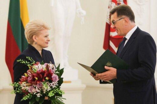 President Dalia Grybauskaitė and Prime Minister Algirdas Butkevičius