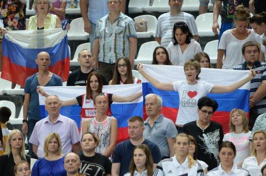 Rusijos krepšinio fanai