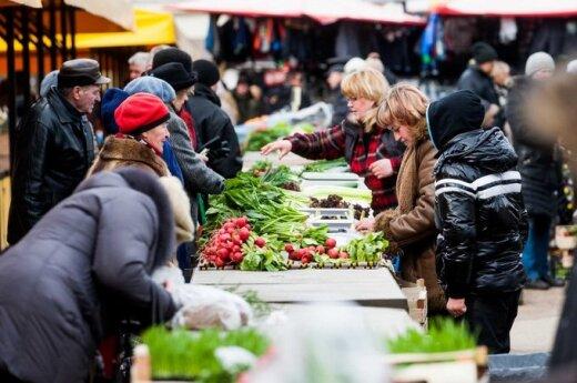 Накануне Пасхи - на рынках праздничное настроение