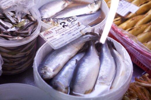 20 metų turguje dirbantis pardavėjas išdavė, kaip neapsirikti renkantis žuvį
