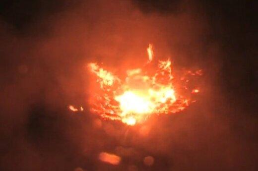 Взрыв метеорита над Индонезией приняли за обстрел