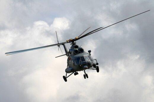 В Омской области упал вертолет: все пассажиры погибли