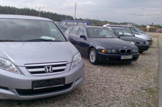 Parduodami naudoti automobiliai