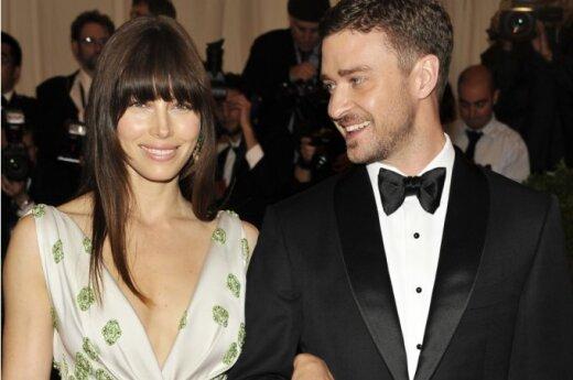 Justin Timberlake i Jessica Biel jeszcze nie po ślubie