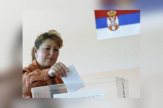 Balsavimas Serbijoje