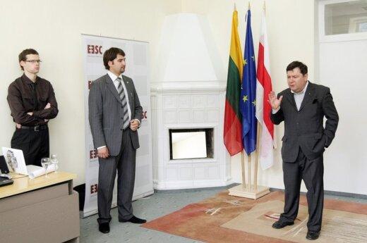 В Вильнюсе открылся Дом единой Беларуси в изгнании