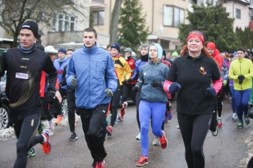 Over 4,300 run in Vilnius to commemorate January 1991 victims