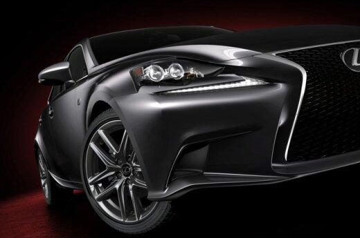 Обнародованы первые снимки нового Lexus IS
