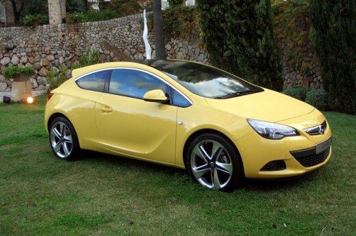 Тест-драйв Opel Astra GTC: в борьбе с эгоизмом