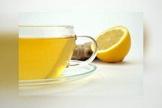 Arbata su  citrina ir imbieru.