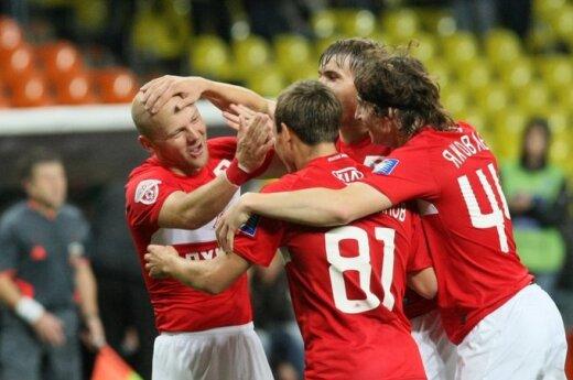 "Maskvos ""Spartak"" klubo futbolininkai"