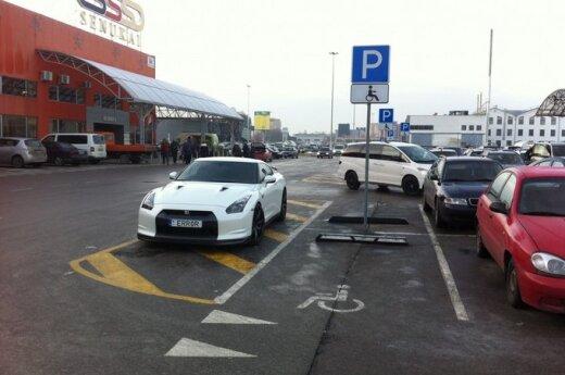 """Savaitės """"Baudos kvitas"""": mano automobilis - mano taisyklės!"""