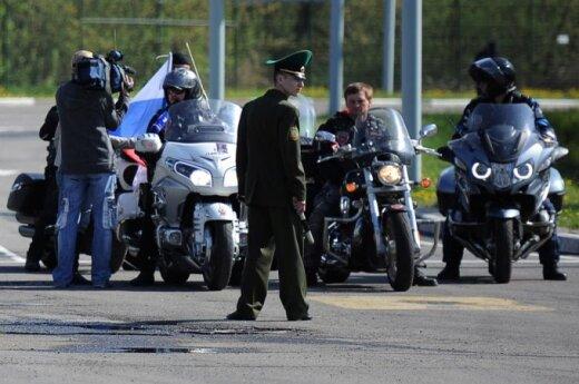 """""""Nocne Wilki"""" zatrzymani w Terespolu. Rajd Katyński protestuje"""