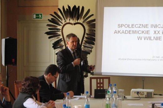 Wołkonowski: Społeczne inicjatywy akademickie w Wilnie