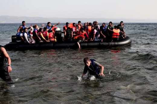 Dutch media: Baltic states will be asked to accept fewer refugees