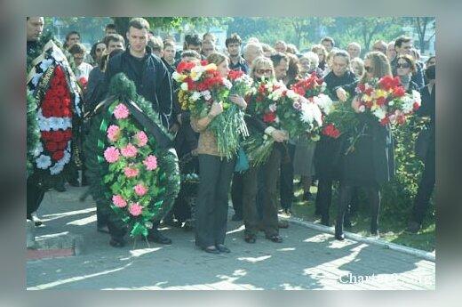 В Минске простились с Олегом Бебениным. Фото - Хартия97