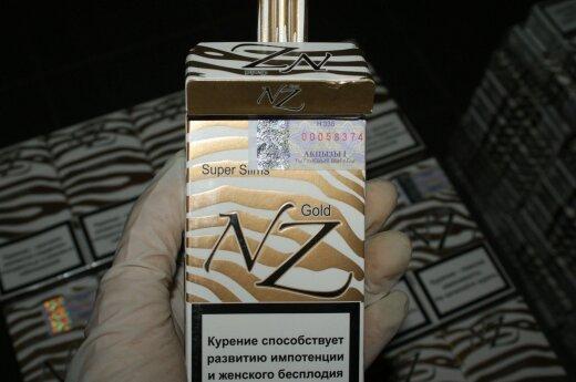 Smuggled cigarettes