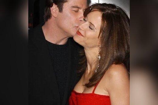 John Travolta su žmona Kelly Preston