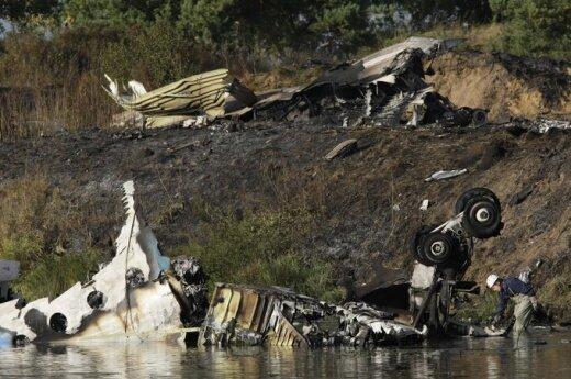 """Rusijoje sudužo lėktuvas su """"Lokomotiv"""" ledo ritulininkais"""