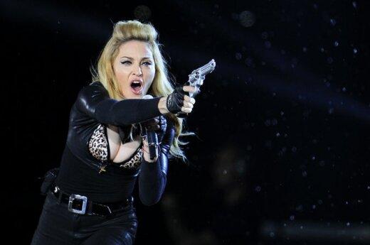Madonnos koncertas Paryžiuje