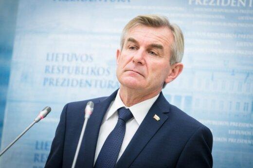 Pirmojo vizito Seimo pirmininkas vyks į Rygą