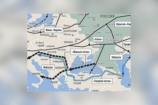 ЕС может заморозить строительство Южного потока