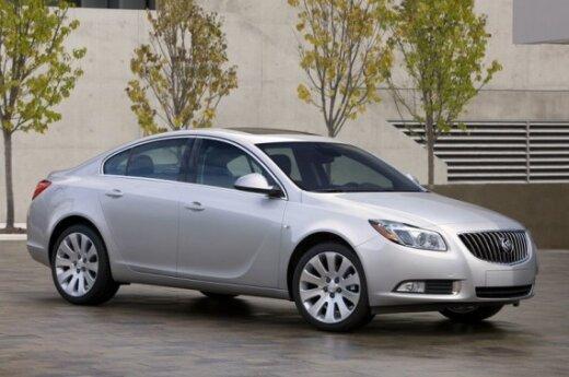 """""""Buick Regal"""" – JAV rinkai skirta """"Opel Insignia"""" versija"""