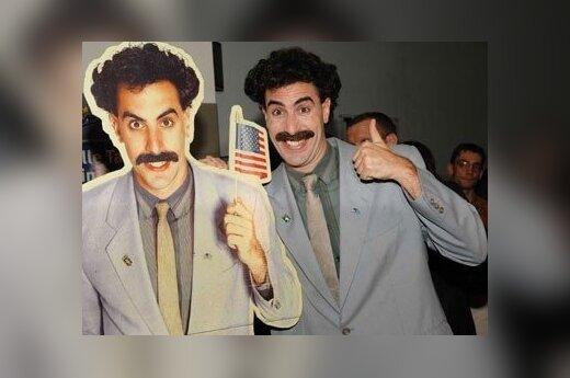 Sacha Baron Cohen i lesbijka znaleźli scenarzystów