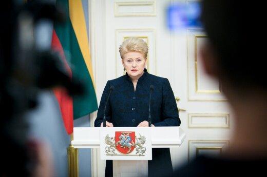 D. Grybauskaitė patvirtino naujus ministrus: 17-os Vyriausybės formavimas baigtas