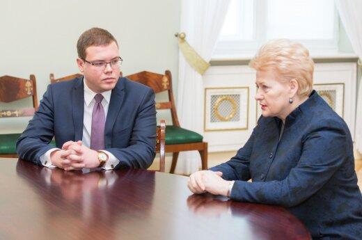 J. Pagojus iš D. Grybauskaitės sulaukė ir nemalonių klausimų