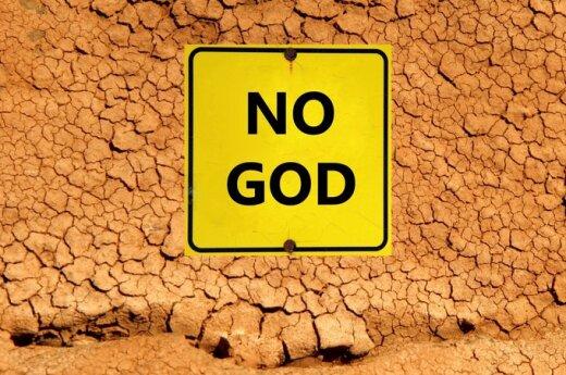 Ateisto atsakymas: dievas gali ir neegzistuoti