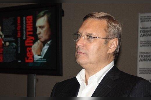 Касьянов: политикам Медведеву и Путину руки не подам