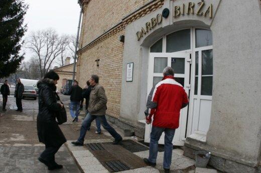 В Литве увеличилось число безработных