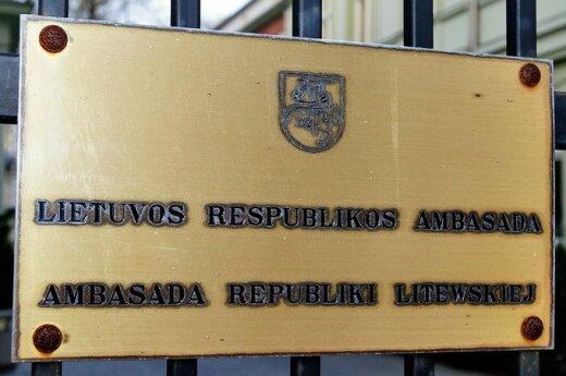 Polska: Pikieta pod litewską ambasadą