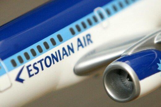 Выросло число пассажиров Estonian Air