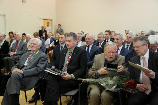 Valdas Adamkus, Vytautas Landsbergis, Artūras Poviliūnas