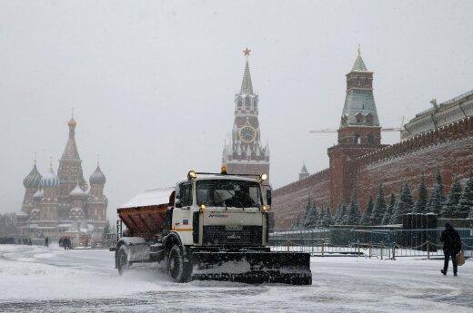 Konspiracijos teorijų mėgėjai nerimauja: vairuotojai prie Kremliaus pastebėjo anomaliją