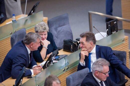 """Socialdemokratai prabilo: netenkina koalicija su """"valstiečiais"""", sieks peržiūrėti sutartį"""