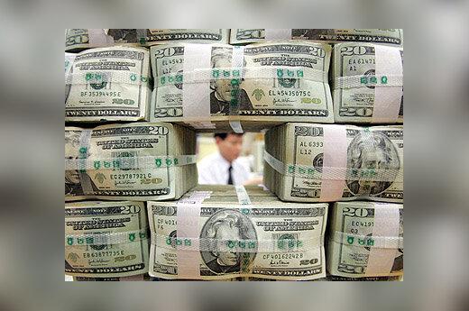 Doleriai, pinigai