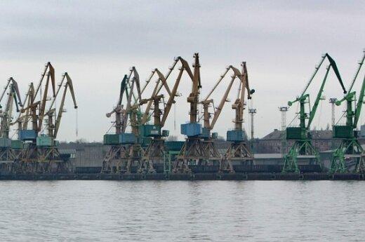 Клайпедский порт ждет первую партию американского груза