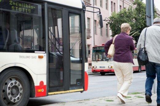 В помощь пассажирам вильнюсского общественного транспорта – услуги добровольцев