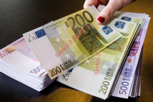 Государственный и муниципальные бюджеты получили 240 млн евро непланированных доходов