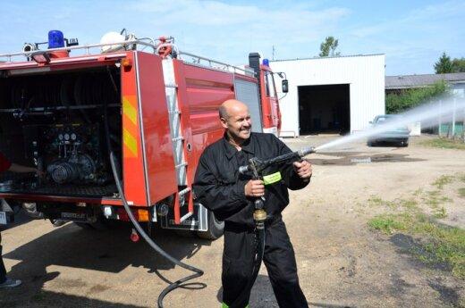 Ochotnicza Straż Pożarna Rejonu Wileńskiego, fot. samorząd rejonu wileńskiego