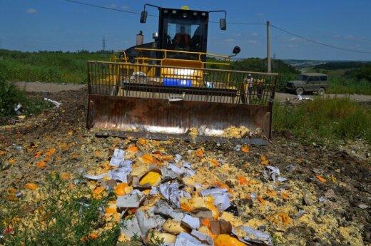 В России уничтожили более 700 тонн санкционных продуктов