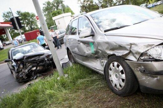 За неделю на дорогах Литвы погибли два человека