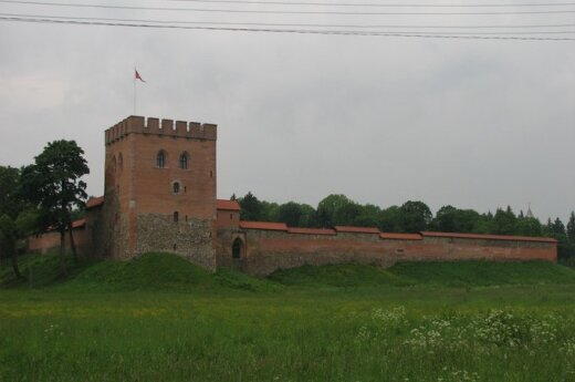 Zamek w Miednikach