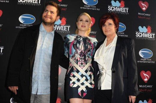 Jack Osbourne, Kelly Osbourne, Sharon Osbourne