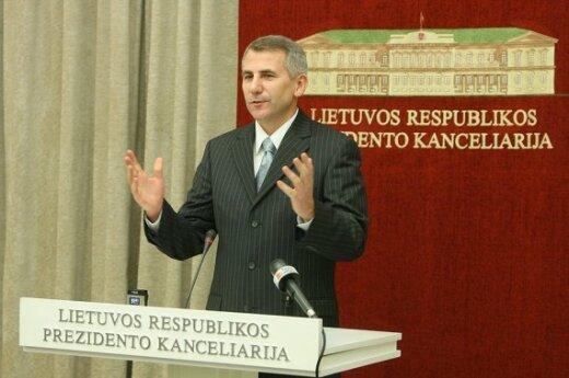 В.Ушацкас: мораторий на санкции  - временная мера