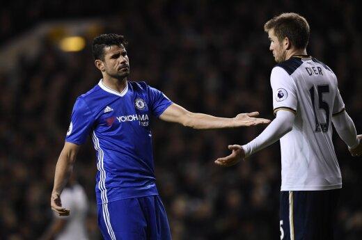 "Susitinka ""Chelsea"" ir ""Tottenham Hotspur"""