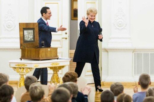 Grybauskaitė spotka się kolejnymi kandydatami
